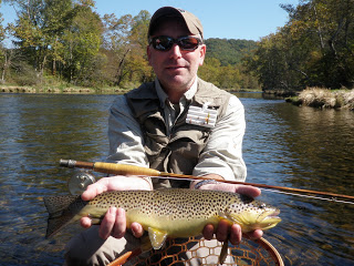 Big Fish with Oyster Bamboo Fly Rods