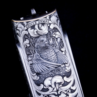20 years of oyster bamboo fly rods hand engraved gun by bill oyster
